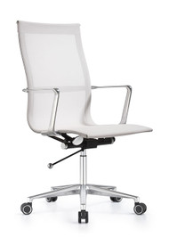 Woodstock Joan High Back Chair - White