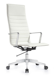 Woodstock Joe High Back Chair - Cloud White