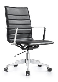 Woodstock Joe Mid Back Chair - Carbon Black