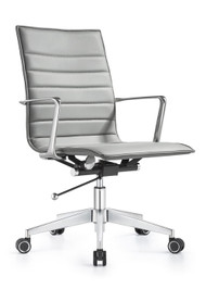 Woodstock Joe Mid Back Chair - Midtown Gray