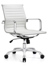 Woodstock Classic Mid Back Chair - White