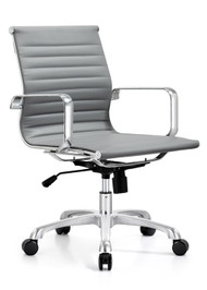 Woodstock Classic Mid Back Chair - Gray
