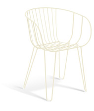 GAR Products Olivo Armchair - Indoor / Outdoor - Cream