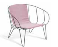 GAR Products Olivo Lounge Chair  - Indoor / Outdoor - Special Order Colors