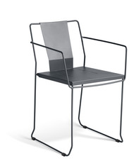 GAR Products Palamos Armchair - Indoor / Outdoor - Black