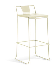 GAR Products Palamos Bar Stool - Indoor / Outdoor - Cream