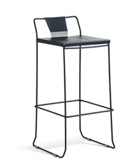 GAR Products Palamos Bar Stool - Indoor / Outdoor - Black