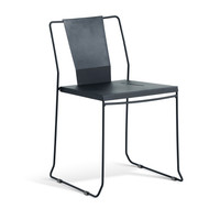 GAR Products Palamos Side Chair  - Indoor / Outdoor - Black