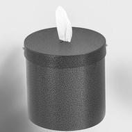 Glaro W1015SV Antibacterial Wipe Dispenser - Wall Mounted  - Silver Vein