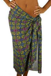 Green Heat pareo from Lifestyles Direct Tan Through Swimwear.
