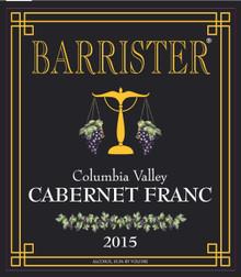 2015 Cabernet Franc, Columbia Valley