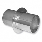 """IMCO 4"""" Straight Cut Exhaust Tips with Internal Flaps (Pair) (02-8125)"""