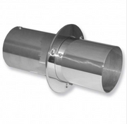 """IMCO 4"""" Straight Cut Exhaust Tips with Internal Flaps (Pair) (02-8131)"""