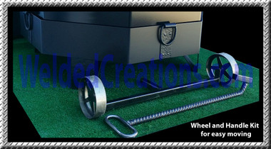 Wheel and Handle Kit. For super easy portability.