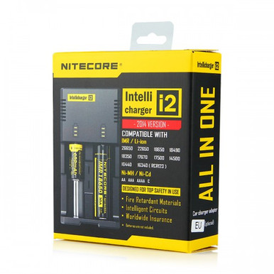 NiteCore Intellicharger i2 Battery Charger with UK Plug