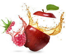 OMG Apple & Raspberry E Liquid By OMG E Juices