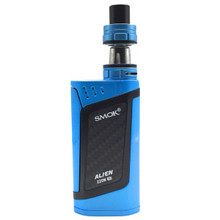 Royal Blue Black Smok Alien Kit