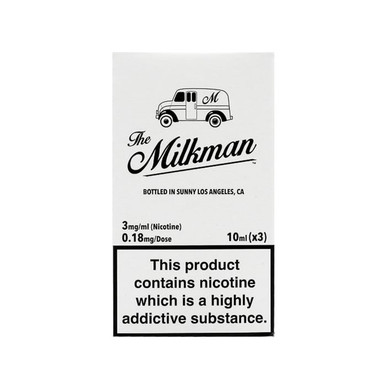 The Milkman Eliquid Packaging