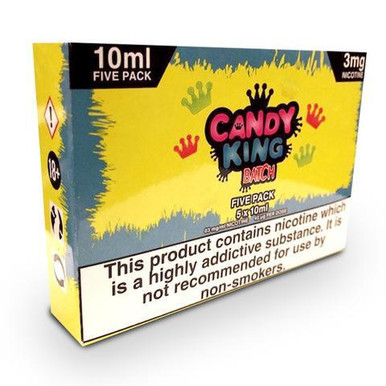 Batch E Liquid 5 x 10ml By Candy King  £15.79
