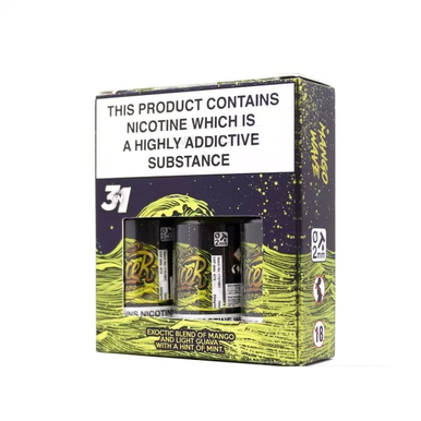 Mango Wave ELiquid By Mr JuiceR 3 x 10ml for only £12.99