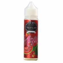 Majika Short Fill E Liquid by Tropican Juice Only £14.99 (Zero Nicotine & Free Nicotine Shot)