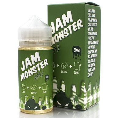 Apple Jam Monster Eliquid 100ml by Fresh Juice Co Only (Free Nic Shots)