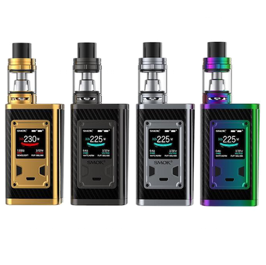 Smok Majesty 225w Carbon Fiber Vaping Kit Free E Liquid Free Delivery