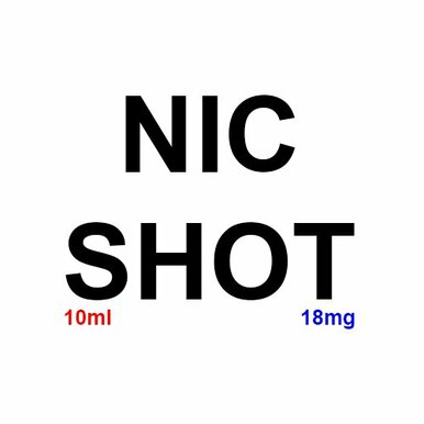 OMG Flavourless Nicotine Shot E Liquid