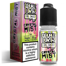 Crystal Mist E Liquid By Double Drip Coil Sauce 10ml