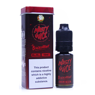 Blackcurrant Eliquid(Bad Blood) By Nasty Juice