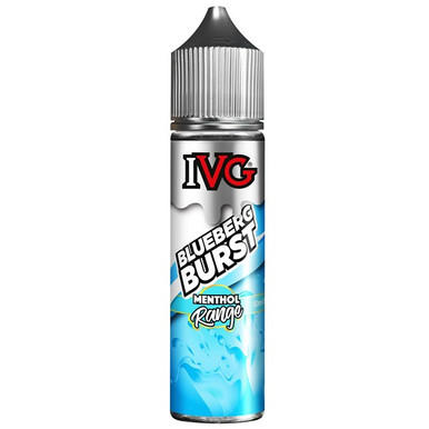 Blueberg Burst E Liquid 50ml by I VG Menthol