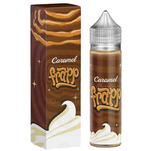 Caramel Frapp E Liquid 50ml by Marina Vape (60ml with 1 x 10ml nicotine shots to make 3mg)