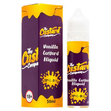 Vanilla Custard E Liquid 50ml by The Custard Company Only £13.99 (Zero Nicotine)