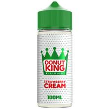 Strawberry Cream E Liquid 100ml by Donut King