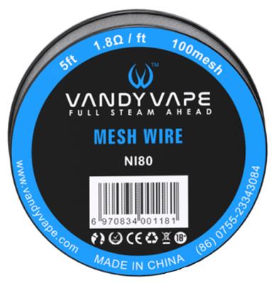 Vandy Vape Mesh Wire KA1 Ni80 SS316L