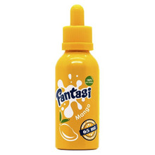 Fantasi Mango E Liquid 50ml by Fantasi inc FREE NIC SHOT(Zero Nicotine)