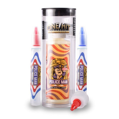 The Man E Liquid 180ml by One Hit Wonder EJuice (FREE NICOTINE SHOTS)