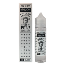 POPS Sweet and Sour Melon E Liquid 50ml (60ml/3mg if nicotine shot added) by Charlie's Chalk Dust Stumps (FREE NICOTINE SHOT)