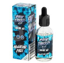 Ocean Ice E Liquid 50ml by Cheap Thrills (60ml/3mg if nicotine shot added) inc FREE NICOTINE SHOT