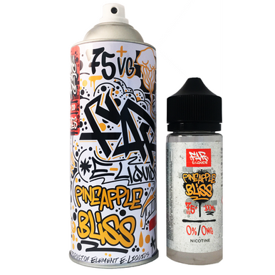 Pineapple Bliss Far Eliquid 100ml (120ml with 2 x 10ml nicotine shots to make 3mg)  by Elements E Liquids Only £25.99 (FREE NICOTINE SHOTS)