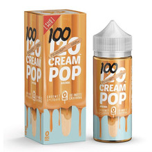120 Cream Pop Eliquid 100ml (120ml with 2 x 10ml nicotine shots to make 3mg)  by Mad Hatter Juice Only £19.99 (FREE NICOTINE SHOTS)