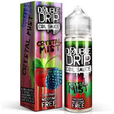 Crystal Mist E Liquid 50ml by Double Drip Coil Sauce