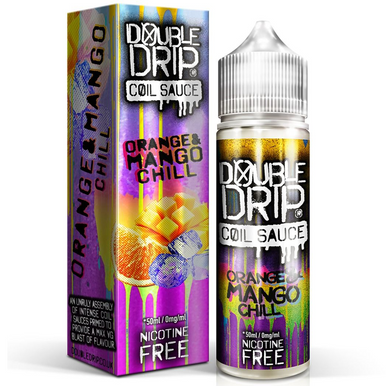 Orange & Mango Chill E Liquid 50ml by Double Drip Coil Sauce