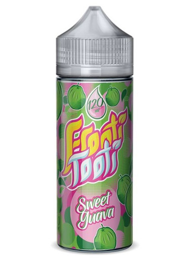 Sweet Guava E Liquid 100ml Shortfill (120ml with 2 x 10ml nicotine shots to make 3mg) by Frooti Tooti E Liquids Only £12.99 (FREE NICOTINE SHOTS)