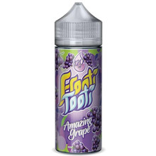Amazing Grape E Liquid 100ml Shortfill (120ml with 2 x 10ml nicotine shots) by Frooti Tooti E Liquids Only £12.99