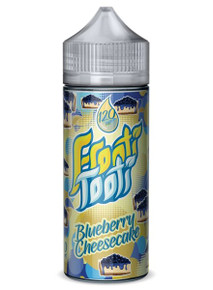 Blueberry Cheesecake E Liquid 100ml Shortfill (120ml with 2 x 10ml nicotine shots to make 3mg) by Frooti Tooti E Liquids Only £12.99 (FREE NICOTINE SHOTS)