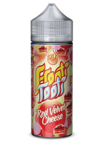 Red Velvet Cheese E Liquid 100ml Shortfill (120ml with 2 x 10ml nicotine shots to make 3mg) by Frooti Tooti E Liquids Only £12.99 (FREE NICOTINE SHOTS)