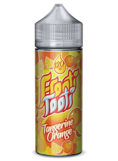 Tangerine Orange E Liquid 100ml Shortfill (120ml with 2 x 10ml nicotine shots to make 3mg) by Frooti Tooti E Liquids Only £12.99 (FREE NICOTINE SHOTS)