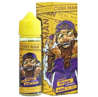 Grape Mango Cush Man Shortfill E Liquid 50ml by Nasty Juice