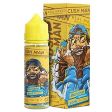 Banana Mango Cush Man Shortfill E Liquid 50ml by Nasty Juice